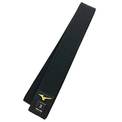 Cintura Mizuno nera Kuro IJF japan (Misura 3.5 cm 265)