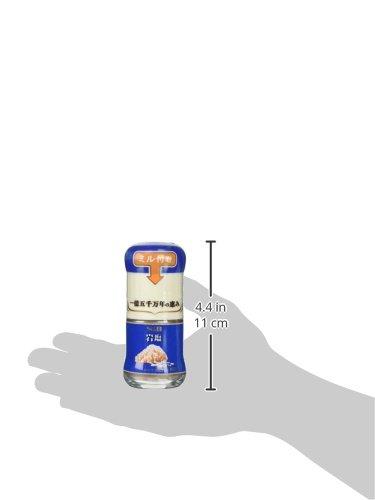 S&Bミル付き岩塩40g