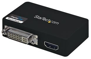 StarTech.com USB 3.0 auf HDMI / DVI Video Adapter, Externe Dual Multi Monitor Grafikkarte, 1920x1200