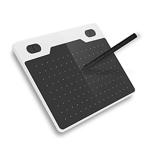 Aibecy Tableta gráfica de 6 x 3,9 pulgadas con lápiz sin batería 8 puntas 4 Express Kys compatible con Windows Android OTG para dibujar dibujar curso de enseñanza en línea