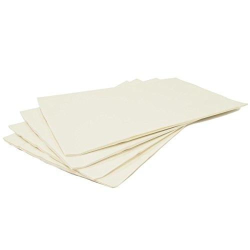 Fogli di carta cerata, confezione da 10
