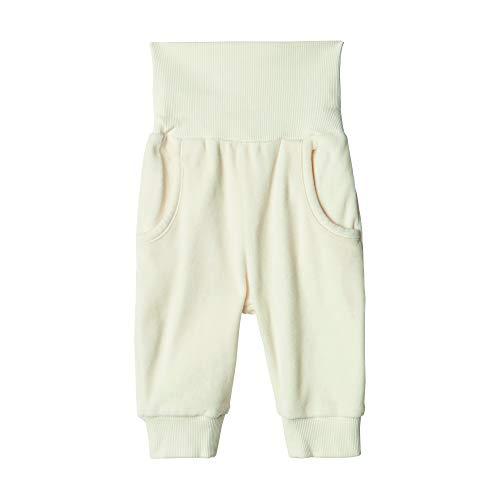 Steiff Jogginghose Jeans, Blanc (Cloud Dancer 1001), 62 Mixte bébé