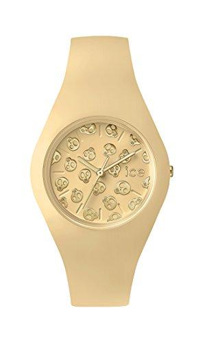 Ice-Watch - ICE skull Mango cream - Women's wristwatch with silicon strap - 001269 (Small)