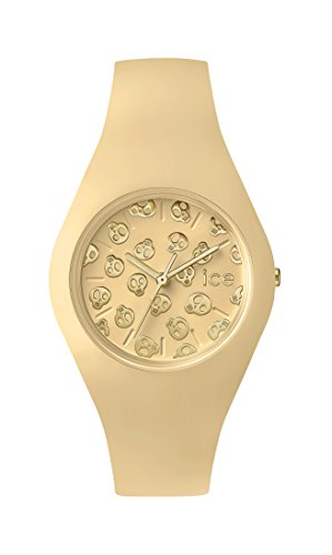 Ice-Watch - ICE skull Mango cream - Women's wristwatch with silicon strap - 001269 (Small)