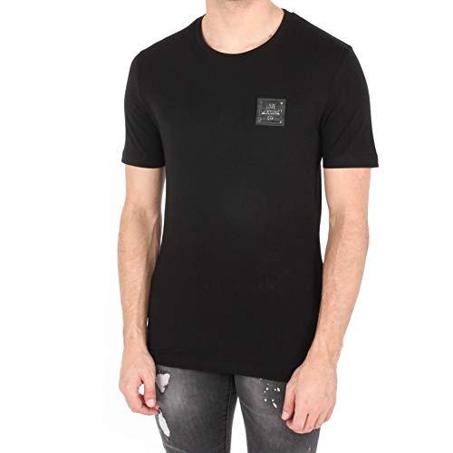 Moschino Chest Badge Logo Slim Fit T-Shirt