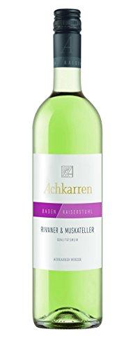Achkarrer Rivaner & Muskateller Cuvée Qualitätswein feinfruchtig/halbtrocken (6 x 0.75 l)