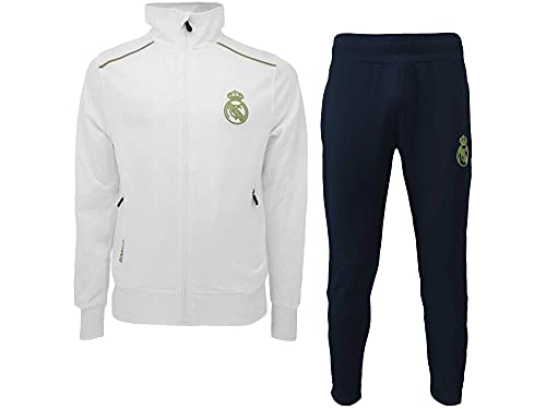 PRENDAS DEPORTIVAS ROGER'S, S.L. Chándal Real Madrid oficial deportivo chaqueta + pantalón...