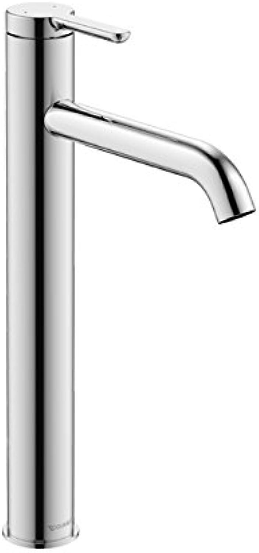 DURAVIT C.1 Einhebel-Waschtischmischer XL (chrom, Strahlformer mit Kippfunktion, 5,1 l   Minute, Ausladung 166 mm)