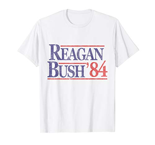 Retro Reagan Bush '84 Republican T-Shirt