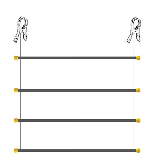 TenderUp Flexi, tendedero Vertical de Pinzas. Plegable. Diseño Compacto. Instalación en Barra...
