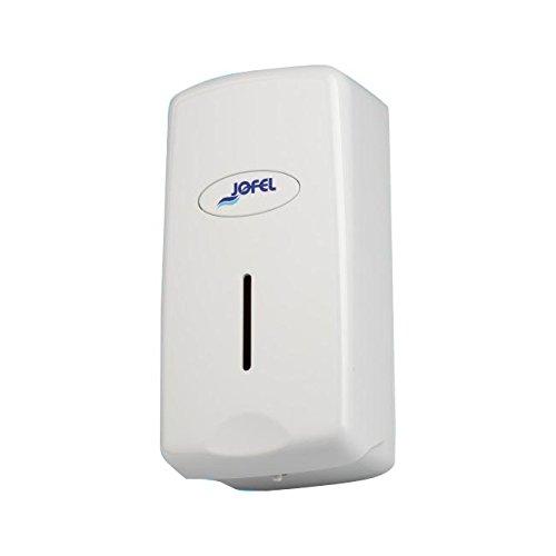 Jofel AC27050 - Dosificador de Jabón Smart Rellenable, 1 litro, ABS, Blanco