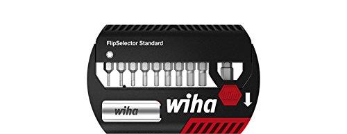 Wiha Bit Set FlipSelector Standard 25 mm Sechskant 11-tlg. 1/4