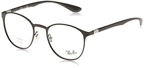 Ray-Ban 6355, Montature Unisex Adulto, Nero (Black), 50