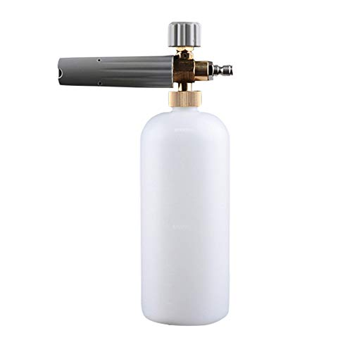 Fantastic Deal! Portable Travel Bottles Adjustable Rotary Nut Pressure Washer Snow Foam Spray Lance ...