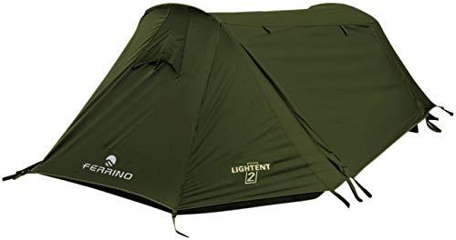 Ferrino Unisex– Erwachsene Lightent Zelt, Oliv, 2 Personen