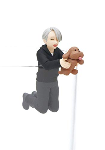 JAPAN OFFICIAL Yuri ON Ice Minifigure Becher Viktor NIKIFOROV 4 cm PUTITTO GASHAPON #1