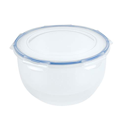 LocknLock Easy Essentials Food Storage lids/Airtight containers, BPA Free, Salad Bowl-16.9 Cup, Clear
