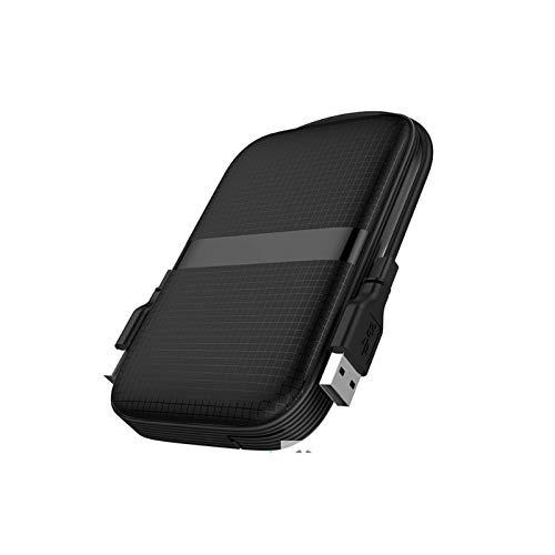 Hdd External Hard Drive 4tb / 2tb / 1tb, 2.5-inch Metal Portable Usb 3.2 Gen 1 Backup Storage, Suitable for Pc, Desktop, Laptop, Macbook, Xbox One, Ps4, Smart Tv (Capacity : 2TB, Color : Black)