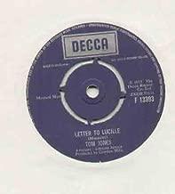 TOM JONES - LETTER TO LUCILLE - 7 inch vinyl / 45 record
