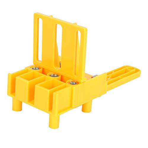 Juego de localizador de perforadoras para carpintería, herramientas de sierra perforadora para taladrar, kit de plantilla de clavijas para carpintería de mano, para herramientas de