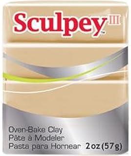 Bulk Buy: Polyform Sculpey III Polymer Clay 2 Ounces Tan S302-301 (5