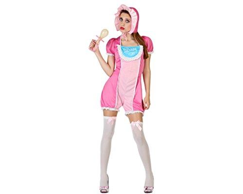 Atosa - 23018 - Costume - Déguisement De Bébé Femme - Adulte - Taille 1