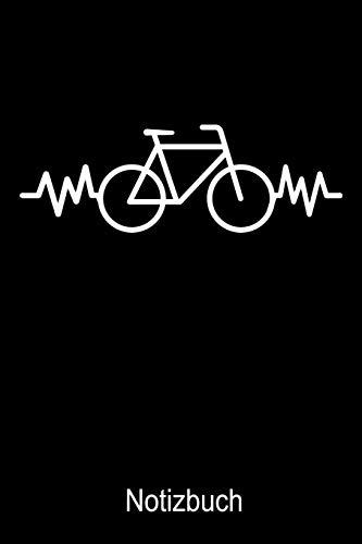 Fahrrad Notizbuch: Notizbuch A5 kariert 120 Seiten, Notizheft / Tagebuch / Reise Journal, perfektes Geschenk für Fahrradfahrer