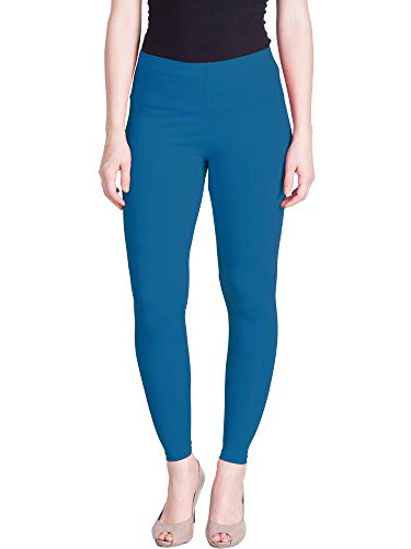 Lux Lyra Women's Leggings Ankle_05_FS_1PC_T.Blue_Free Size