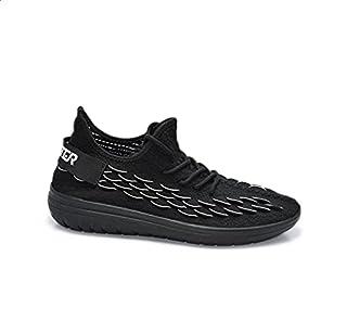 Starter Textile Two-Tone Back Logo Lace-Up Walking Unisex Shoes 40