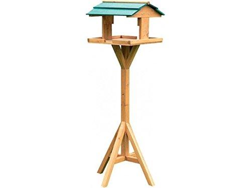 Vogelhaus aus Massivholz, mit Dach, traditionelles Design - 4
