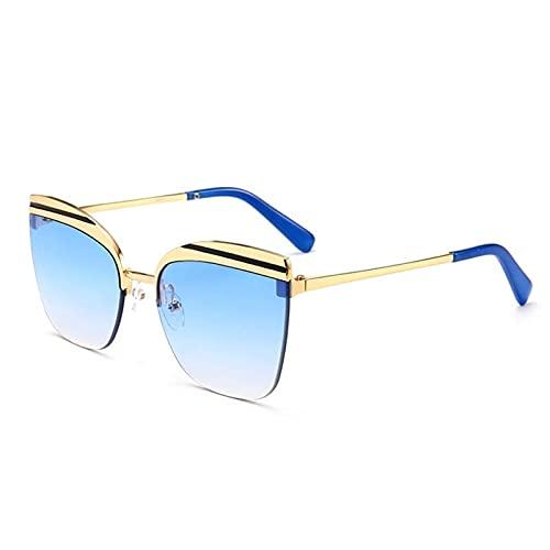 AMFG Gafas De Sol Sin Montura, Hombres Y Mujeres, Gafas De Sol, Gafas De Sol, Gafas Al Aire Libre. (Color : D, Size : M)