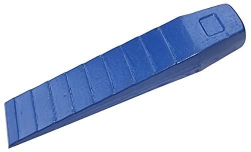 AERZETIX - Cuña para cortar madera/troncos 49x250mm - cuña para talar con golpe - cuña de división - herramienta para leña - en acero - C49979
