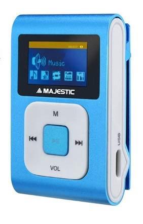 MAJESTIC Mini Lettore MP3 (Sdb-8349r) 8 GB DS 1.1