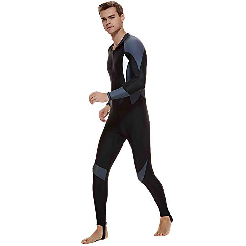 LZWNB Dive Skin, Diving Snorkeling Surfing Spearfishing Rash Guard-Full Body UV Protection - for Men Women Youth Thin Wetsuit Jellyfish Skin,B,4XL