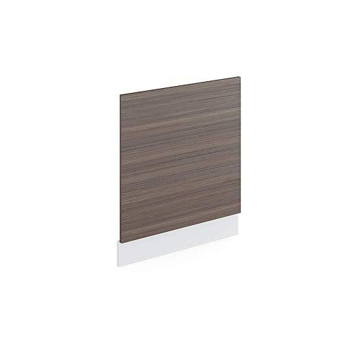 Vicco Küchenschrank R-Line Hängeschrank Unterschrank Küchenzeile Küchenunterschrank Arbeitsplatte, Möbel verfügbar in anthrazit und weiß (edelgrau ohne Arbeitsplatte, Geschirrspülerblende 60 cm)