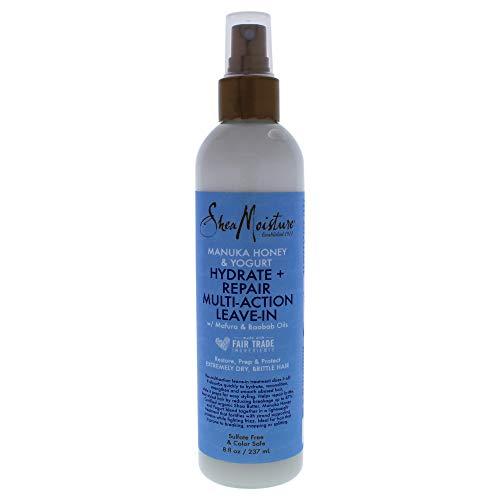 Shea Moisture Manuka Honey and Yogurt Hydrate Plus Multi-Action Leave-Insex Treatment, 8 Ounce