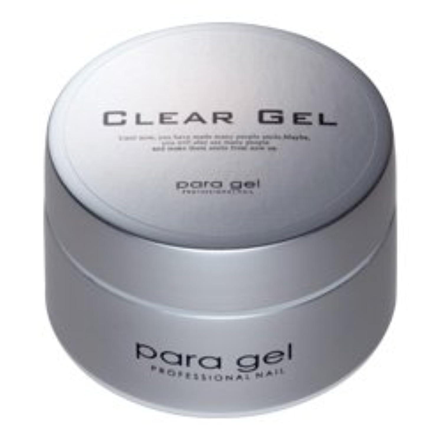 太いデコラティブチューブ★para gel(パラジェル) <BR>クリアジェル 10g