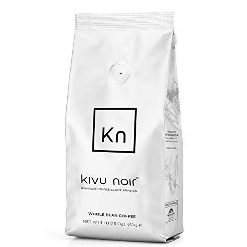 Kivu noir Specialty Coffee - Luxurious Rwanda coffee Single Estate Fair Trade Red Bourbon Arabica Espresso Medium Roast Coffee beans (Medium roast - Whole beans)