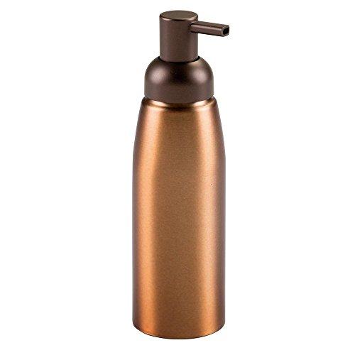 Price comparison product image iDesign Metro Rust Proof Aluminum Soap Dispenser Pump for Kitchen,  Bathroom Vanities,  14 oz. - Bronze