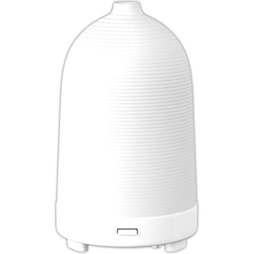 Nature's Truth Ultrasonic Mini Diffuser with up to 10 Hours Run Time, White