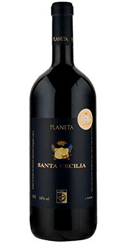 Santa Cecilia, Nero d'Avola, Planeta 1.5l (case of 6), Sicily/Italien, Nero d'Avola, (Rotwein) 2015
