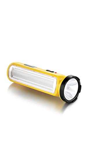 Pigeon Radiance LED Torch with Emergency Light (Yellow)