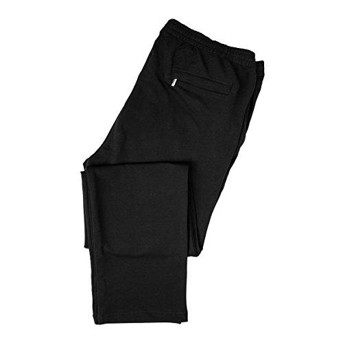 Pantaloni tuta neri Hajo Taglie forti, 2xl-8xl:4xl