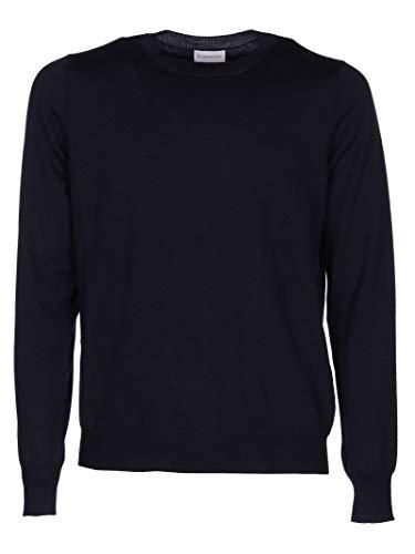 Luxury Fashion | Moncler Heren 9046800A9227742 Donkerblauw Wol Truien | Herfst-winter 19
