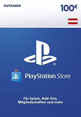 PSN Guthaben-Aufstockung   100 EUR   österreichisches Konto   PS5/PS4 Download Code
