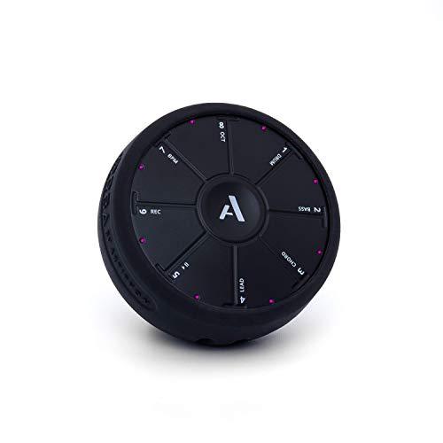 Artiphon Silikon Schutzhülle für den Orba Synthesizer Looper Midi-Controller Silikonhülle (optimale Passform, flexibel, Auslassungen für Knöpfe und Anschlüsse, abnehmbares Schlüsselband), Schwarz