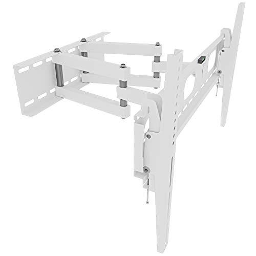 OKSI - Soporte de pared para televisores y monitores de 32 a 55 pulgadas, inclinación de movimiento +/- 15°, distancia máxima a la pared de 47 cm, compatible con VESA, 100 x 100 a 660 x 400