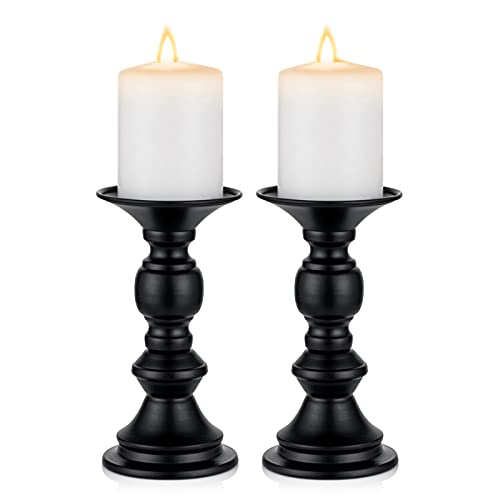 Candelabros Para Velas Negro candelabros para velas  Marca Nuptio