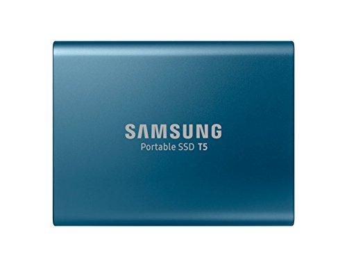Samsung 外付けSSD 500GB T5シリーズ USB3.1対応 ハードウェア暗号化 パスワード保護 V-NAND搭載 MU-PA500B...