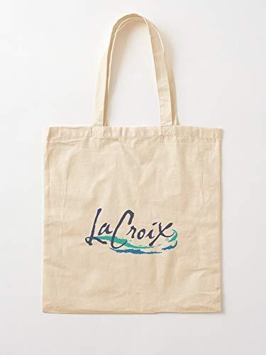 La Lacroix Croix Test Taste Me What Is Seule Suffit Canvas Tote Umhängetasche Stylish Shopping Casual Bag Faltbare Reisetasche